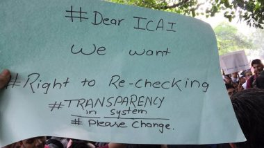 ICAI Exam Row: CA Students Stage Protest Across India, Demand Re-Evaluation of Answer Sheets Among Other Paper-Checking Reforms